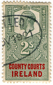 (71) 2/- Green & Red (1912)