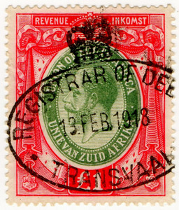 (12) £1 Red & Olive (1913)