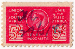 (58a) 5/- Red (1943)
