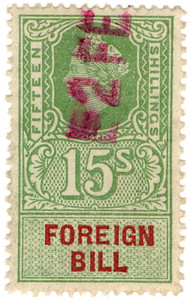 (228) 15/- Green & Red (1959)