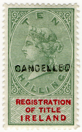 (07) 10/- Green & Red (1890)