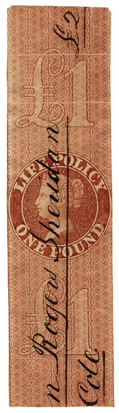 (34) £1 Red-Brown (1869)