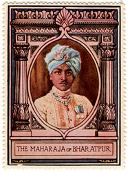 The Maharaja of Bharatpur