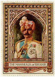 The Maharaja of Bikanir