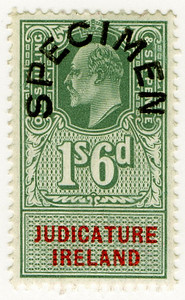 (56) 1/6d Green & Red (1902)