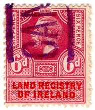 (11) 6d Purple & Red (1912)