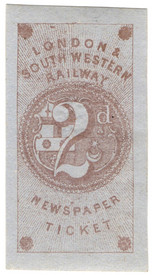 2d Newspaper Ticket