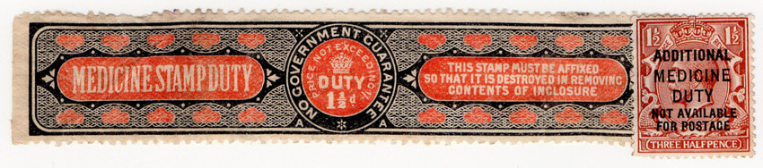 Example of how the stamp was used