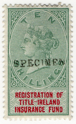 (03) 10/- Green & Red (1890)