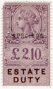 (07) £2 10/- Lilac & Brown (1895)