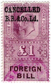 (131a) £1 Lilac (1902)