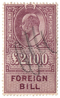 (134) £2 10s Lilac (1902)