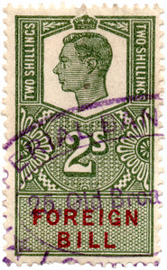 (206) 2/- Green & Red (1948)
