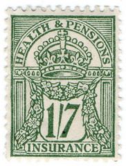 (75) 1/7d (Yellow-Green (1941)