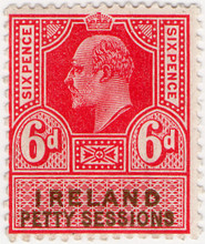 (12) 6d Red & Olive (1902)