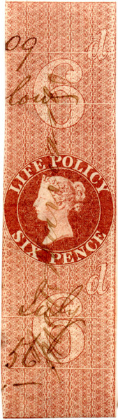 (02) 6d Red-Brown (1854)