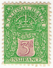 (05) 3d Emerald & Purple (1912)