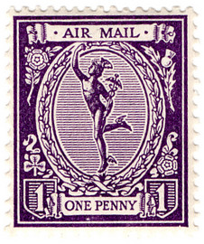 Mercury Airmail Stamps