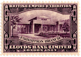 British Empire Exhibition - Lloyds Bank