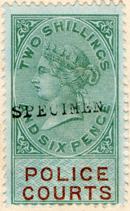 (05) 2/6d Green & Brown (1876)