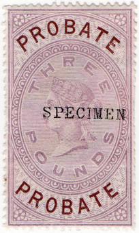 (30) £3 Lilac & Brown (1878)