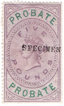 (31) £5 Lilac & Green (1878)