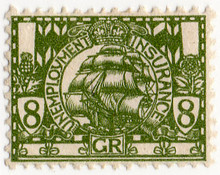 (09) 8d Olive Green (1912)