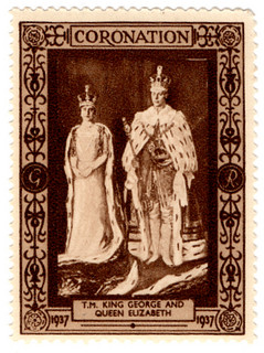 Their Majesties King George and Queen Elizabeth
