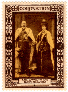 King Edward VII and Queen Alexandria
