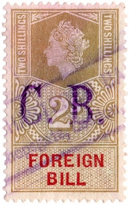 (223a) 2/- Gold & Red (1959)