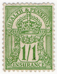 (60) 1/1d Yellow-Green (1928)