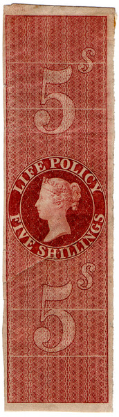 (06) 5/- Red-Brown (1854)