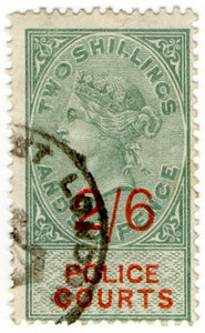 (15) 2/6d Green & Vermillion (1895)