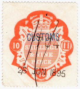 (47) 3/9d Red (1896)