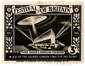 Flying Saucer & Travelling Exhibition