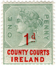 (24) 1d Green & Red ( 1895)