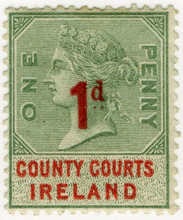 (35) 1d Green & Red (1895)