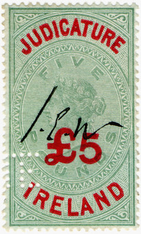 (50) £5 Green & Red (1895)
