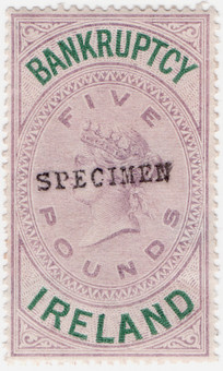 (14) £5 Lilac & Green (1882)