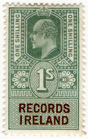 (08) 1/- Green & Brown (1902)
