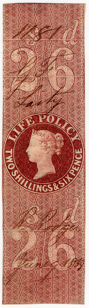 (05) 2/6d Red-Brown (1854)