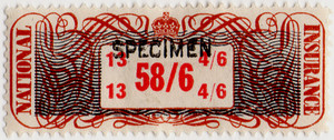 (20) 58/6d Brown, Black & Red (1948)