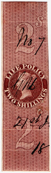 (12) 2/- Red-Brown (1860)