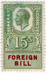 (193) 15/- Green & Purple (1917)