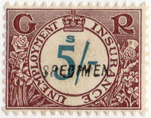(195) 5/- Brown & Green (1931)
