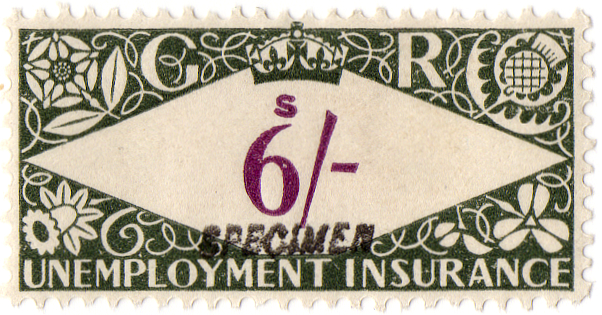 (230) 6/- Green & Purple (1939)