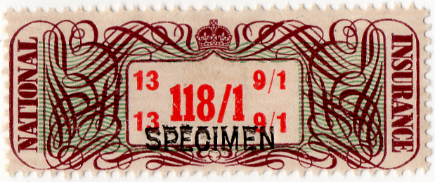 (25) 118/1d Brown, Green & Red (1948)