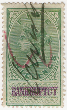 (61) 5/- Green & Lilac (1878)