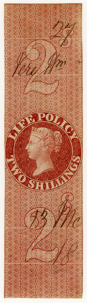 (30) 2/- Red-Brown (1869)