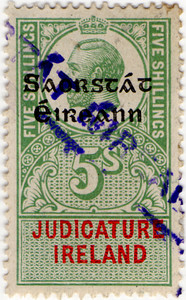 (107) 5/- Green & Red (1922)